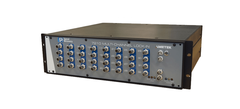 Amplificateur à détéction synchrone 32 voies 7210
