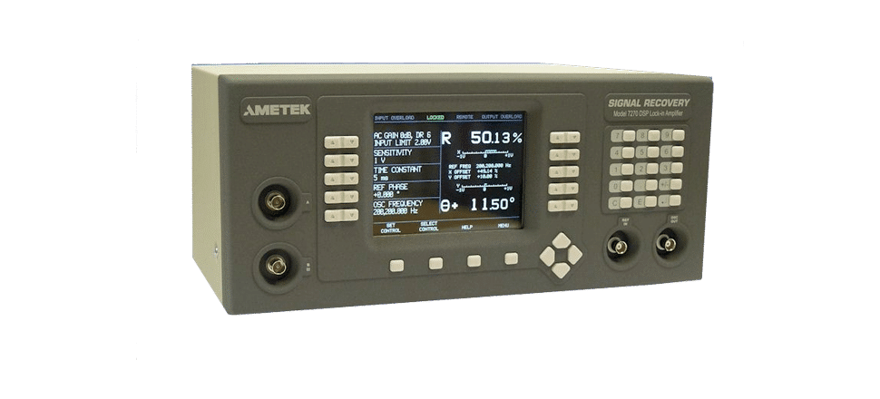 Amplificateur à détection synchrone 7270