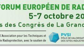 HTDS sera présent au 5e Forum Européen de Radioprotectique