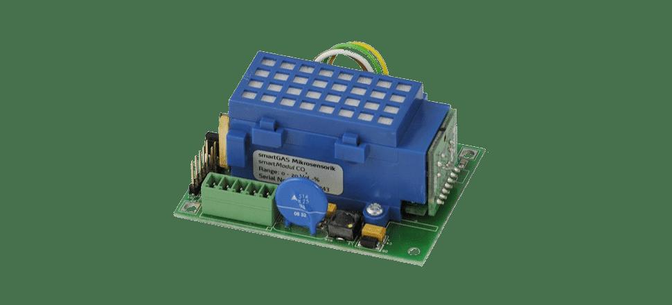 Capteur NDIR à diffusion à sortie analogique et numérique