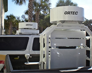 Detécteur de radiations mobile Detective MRVS