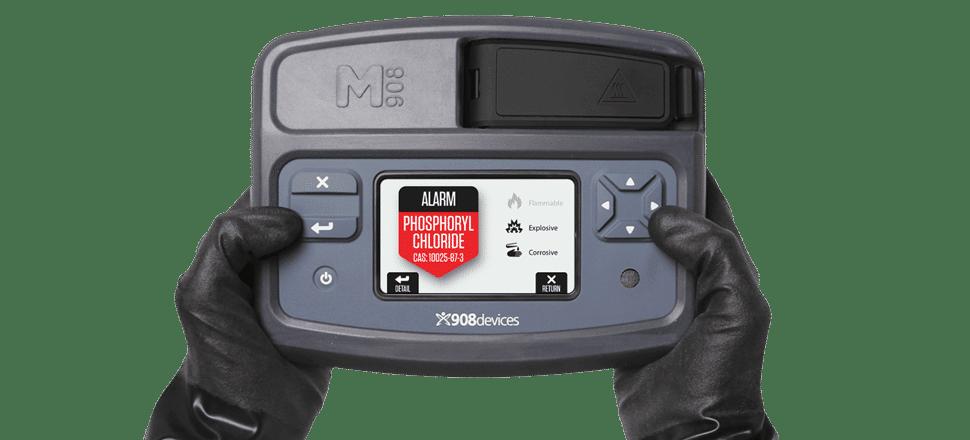 Spectromètre portable haute-pression MX908