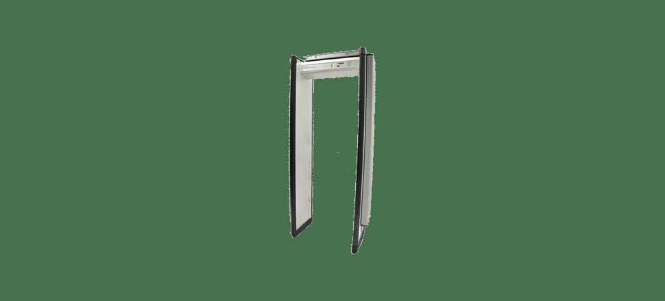Portique piètons détécteur de métaux et de rayonnement