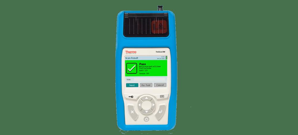 Spectromètre Raman portable TruScan RM