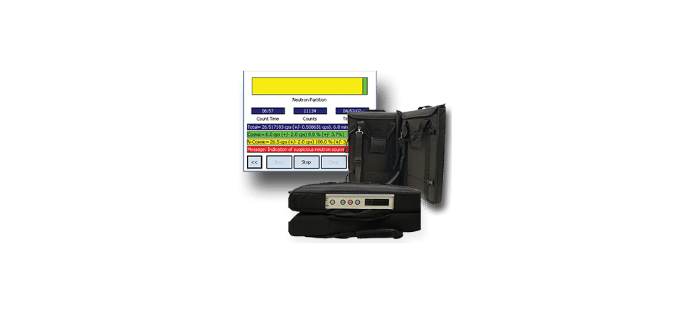 Fission meter - Identificateur portable de sources neutrons