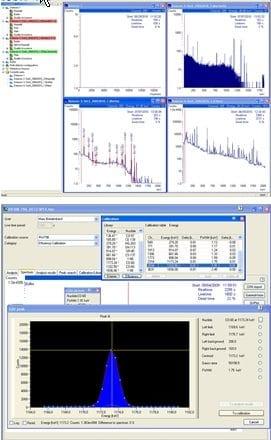 Logiciels de Spectrométrie Gamma LVIS