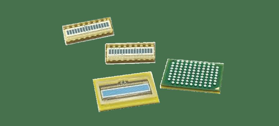 Barrettes et matrices photodiodes APD