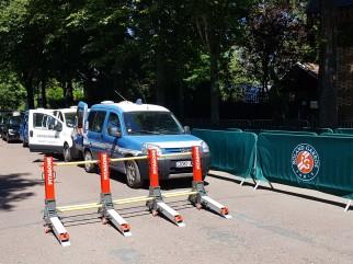 Barrière anti véhicules béliers