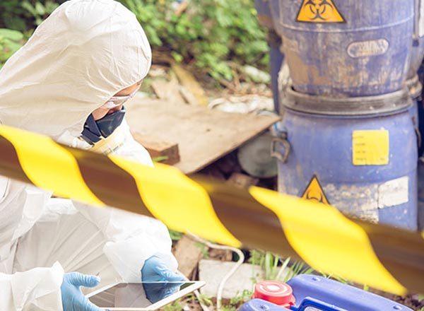 Détection radioactivité