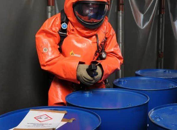 Détection risques chimiques