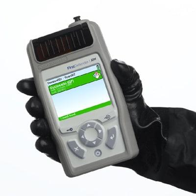 Spectromètre Raman portable FirstDefender RM/RMX