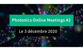Photonics Online Meetings : HTDS y participe !